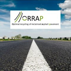 Optimierung des Recyclings von gebrauchten Straßen