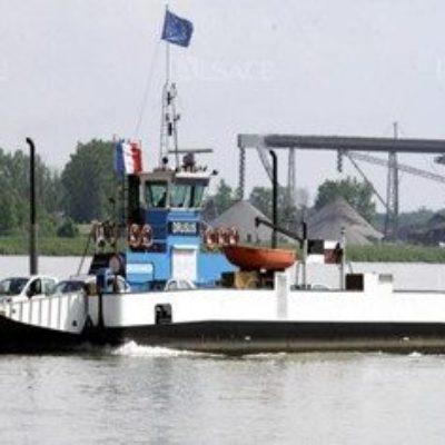 Bacs Rhénans: Informations- und Verkehrsleitsystem für die Benutzer der Rheinfähren