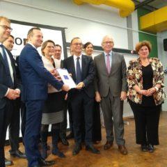 """""""Smart Factory"""": Offizielle Übergabe des INTERREG-Förderbescheids in Wörth"""