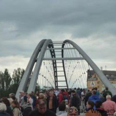 """Volksfest anlässlich des """"10-jährigen Jubiläums der Dreiländerbrücke"""""""