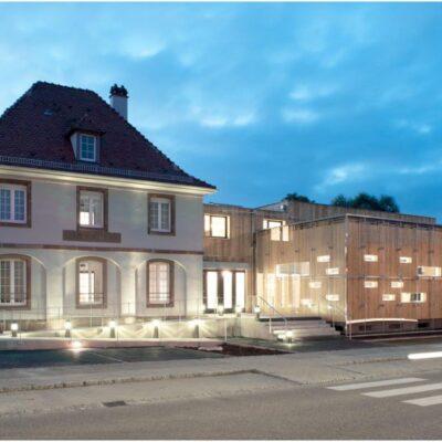 Sitz von INFOBEST: Umgestaltung und Erweiterung des Alten Zollhauses in Lauterbourg