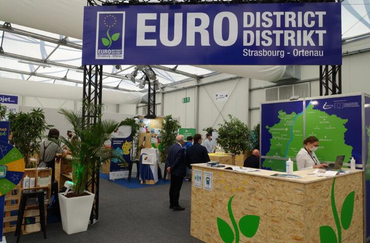 """Der Eurodistrikt Straßburg-Ortenau stellt das Projekt """"Zivilgesellschaft"""" auf der Europamesse vor"""
