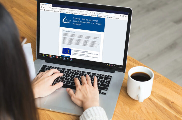 Umfrage an die Projektträger des Programms Interreg V