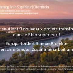 Neue europäische Projekte für die grenzübergreifende Oberrheinregion