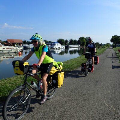 Öffnung des EDF-Stauwehrs Île du Rhin in Marckolsheim – Vogtsburg – Burkheim für Radfahrer und Fussgänger