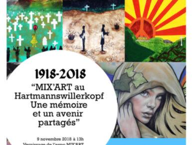 MIX'ART - Hartmannswillerkopf 2018: Künstlerischen und bürgerlichen Workshops