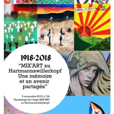 MIX'ART – Hartmannswillerkopf 2018: Künstlerischen und bürgerlichen Workshops
