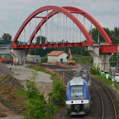 Studie über die Verbesserung der Grenzüberschreitenden Bedienung Strassburg – Wissenburg – Neustadt