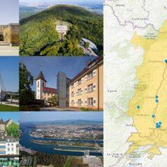 Entdecken Sie die Orte, die die Geschichte von Interreg am Oberrhein erzählen