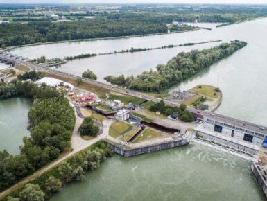 PK309: Gesicherter Rheinübergang für Fußgänger und Radfahrer Gambsheim-Rheinau