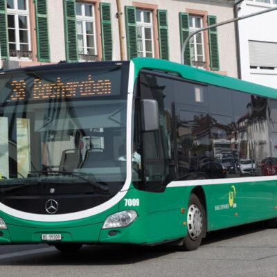 Neue Grenzüberschreitende Buslinie von Grenzach-Wyhlen (D) nach Basel (CH)