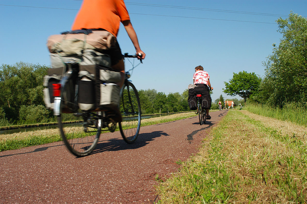 Rad Sauer-Pechelbronn-Dahn: Förderung des grenzüberschreitenden Fahrradtourismus