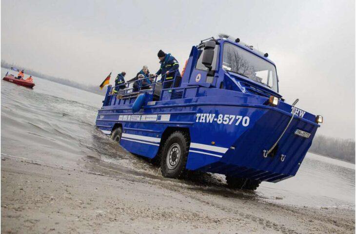 30 Geschichten aus 30 Jahren #13: deutsch-französisches Amphibienfahrzeug